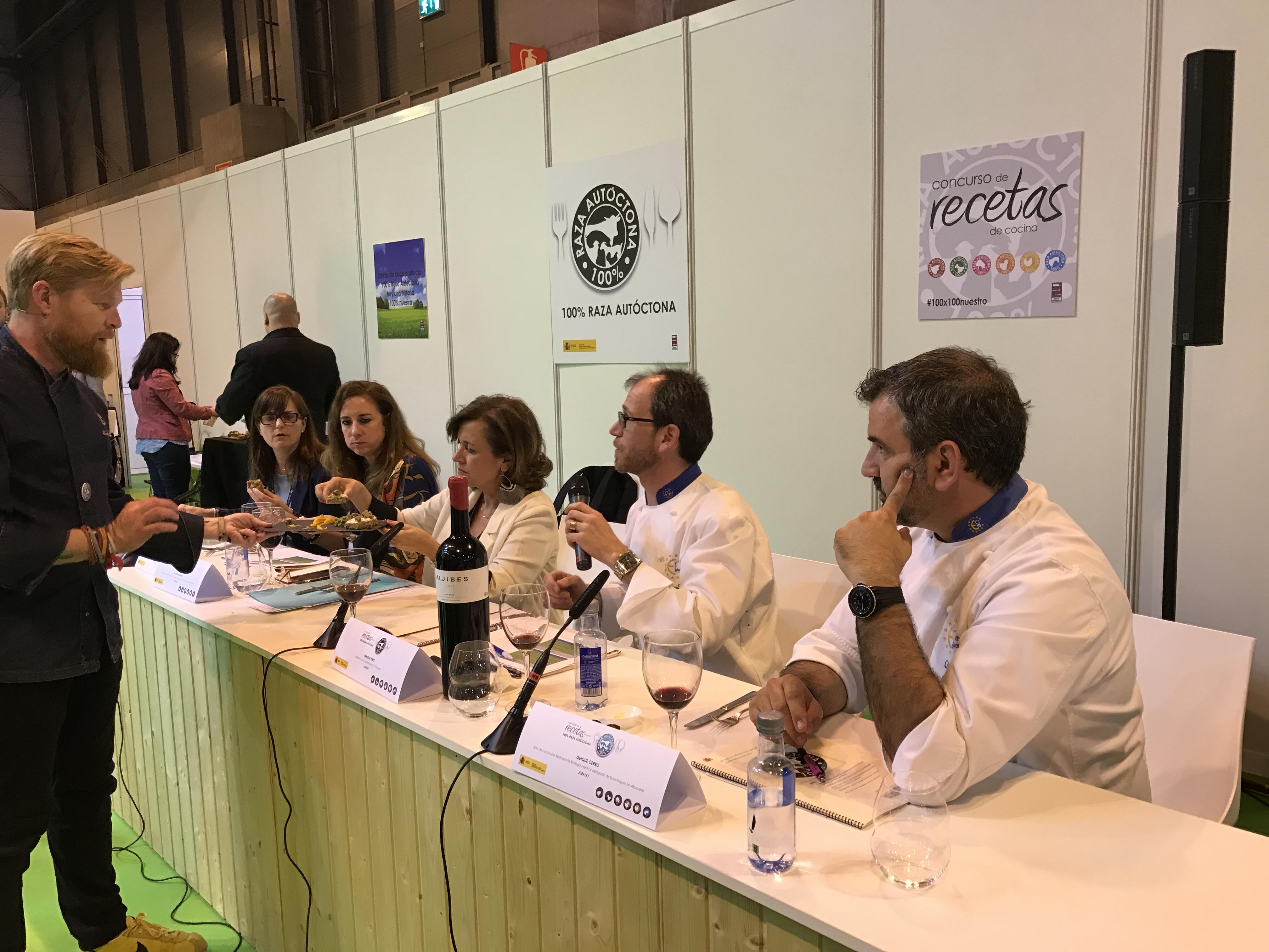 Concurso Cocina | Entrega De Premios Del Concurso De Cocina 100 Raza Autoctona
